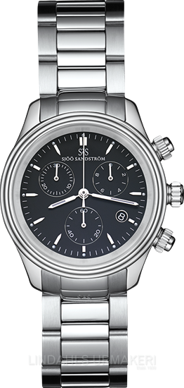 Sjöö Sandström Royal Steel Chronograph 35,5 010068