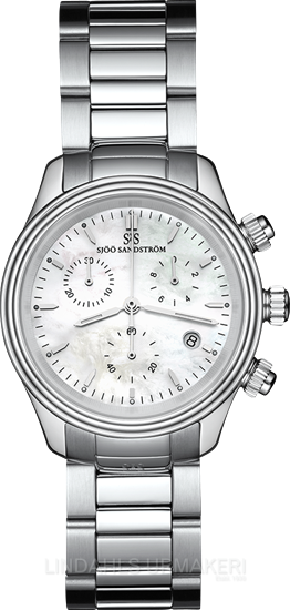 Sjöö Sandström Royal Steel Chronograph 35,5 010211