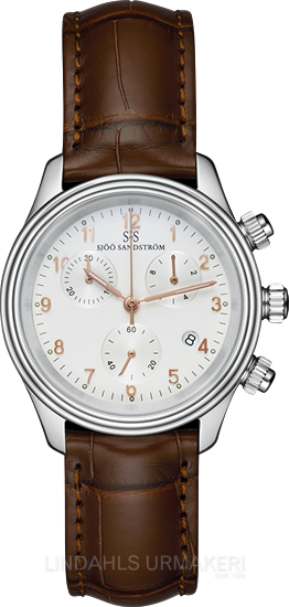 Sjöö Sandström Royal Steel Chronograph 35,5 010440